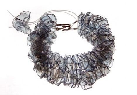 collana fai da te plastica riciclata