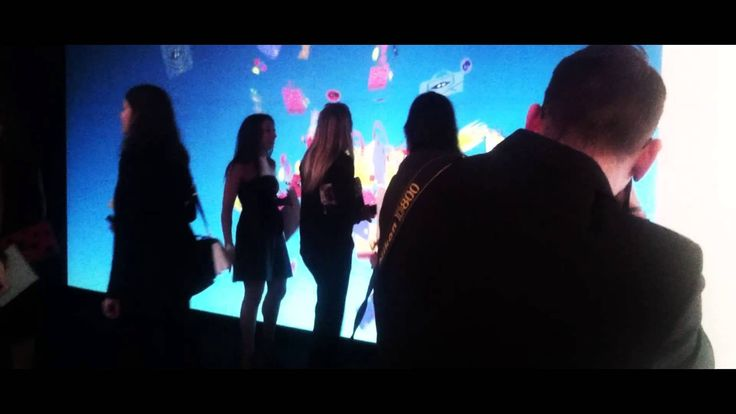 Immersive Retail - Furla -Interactive Wall and Projection Mapping on a p...