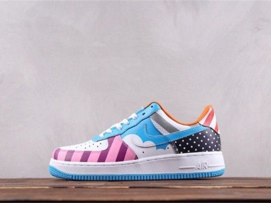 Custom Nike Air Force 1 Low Parra Friends & Family MutiColor