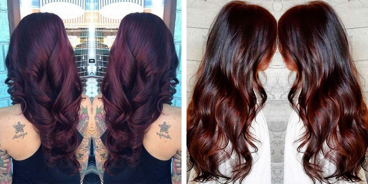 Chocolate cherry brown hair color is a luscious deep brown ...