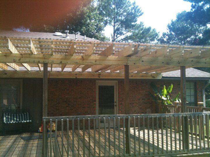 Adding Roof Over Deck Deck Roof Images Pergola Deck