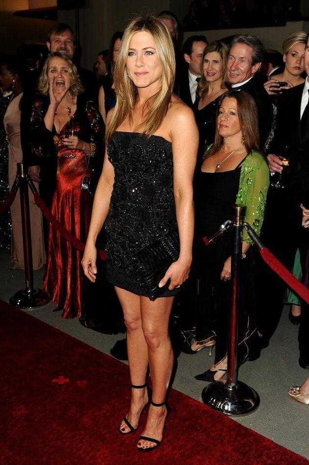 Jennifer Aninston at the Red Carpet