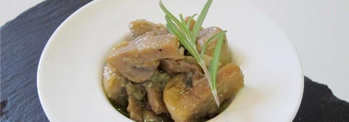 Champiñones al jeres y mostaza con aceite de oliva virgen extra Arbequina de Casas de Hualdo. #aove