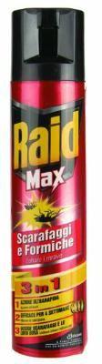 RAID SPRAY INSETTICIDA SCARAFAGGI FORMICHE ML. 400 https://www.chiaradecaria.it/it/insetticidi-uso-civile/15167-raid-spray-insetticida-scarafaggi-formiche-ml-400-8002030142875.html