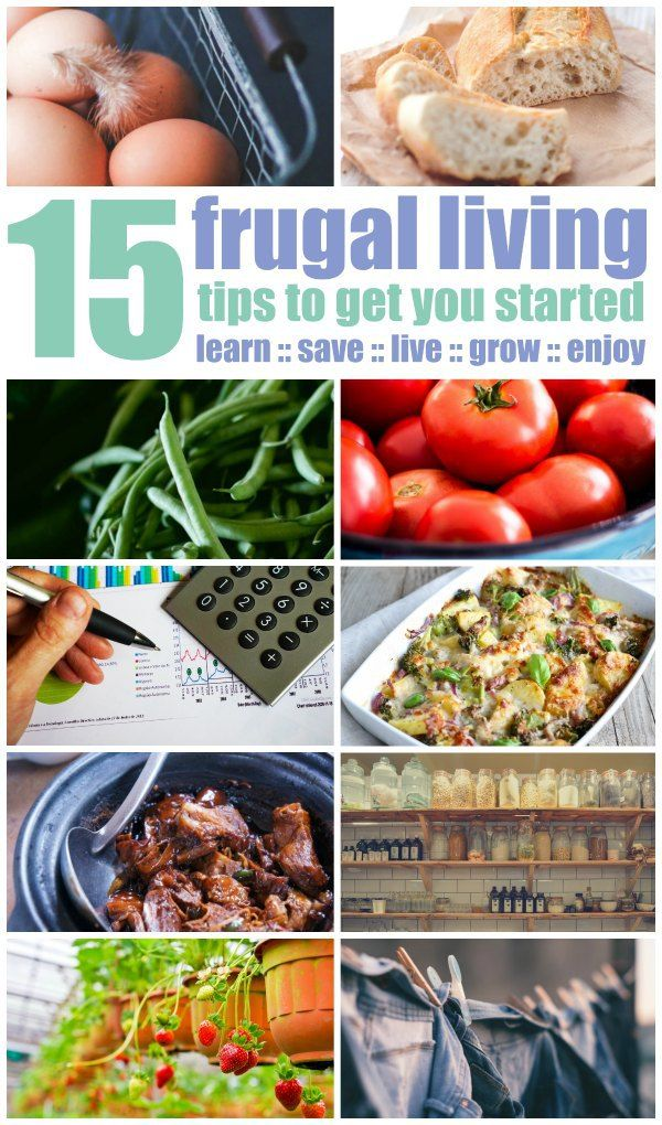 Great tips that are shockingly easy to start implementing - today! I never thought frugal living could be this easy!!!
