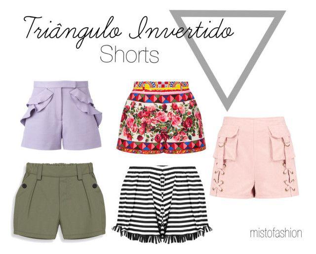 Triângulo Invertido - Shorts