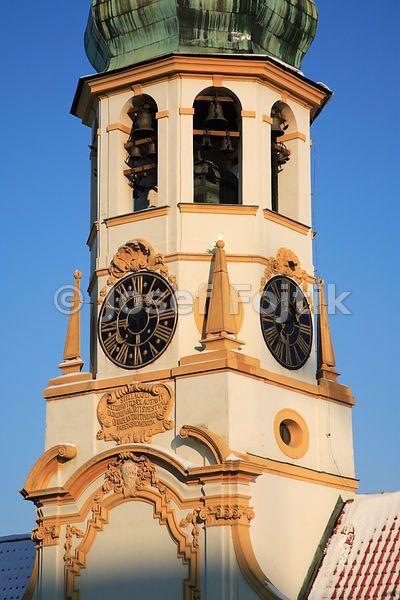 Tower of Loreta, Loreta Square, Hradcany, Prague, Czech Republic