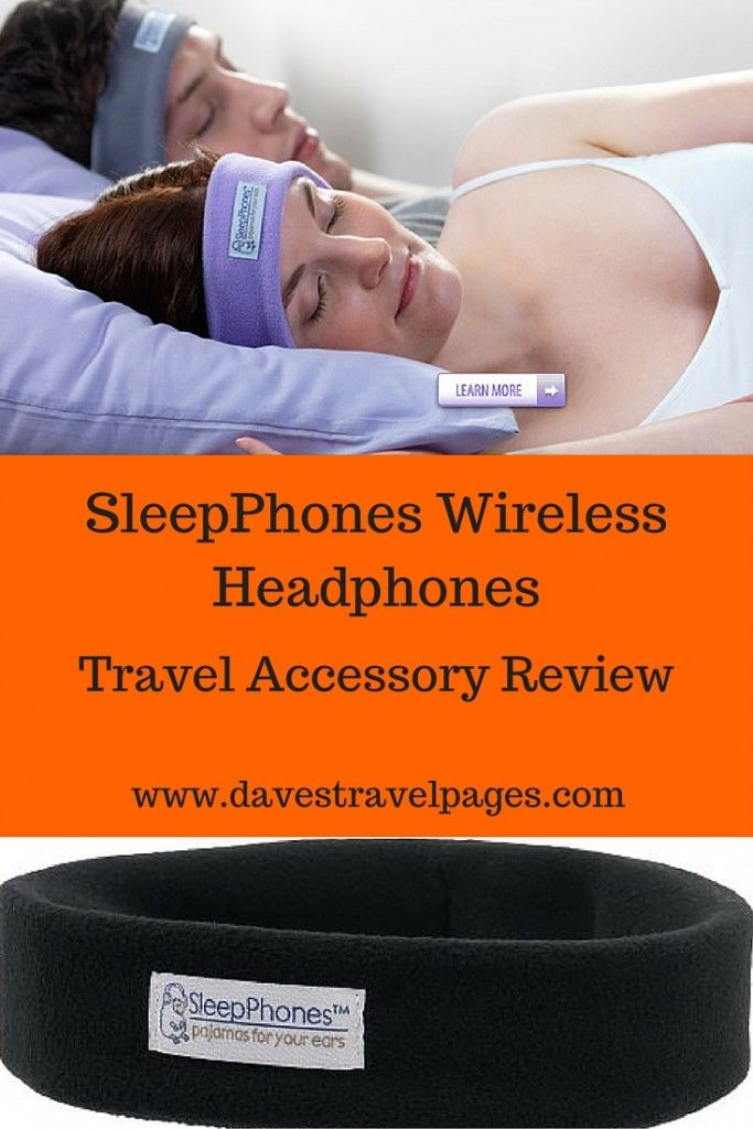 Sleepphones Wireless Headphones Review - A suitable travel accessory for anyone flying, traveling by bus, or if you simply want to get a good nights sleep. Read the full review for these bluetooth headphones to find out more.