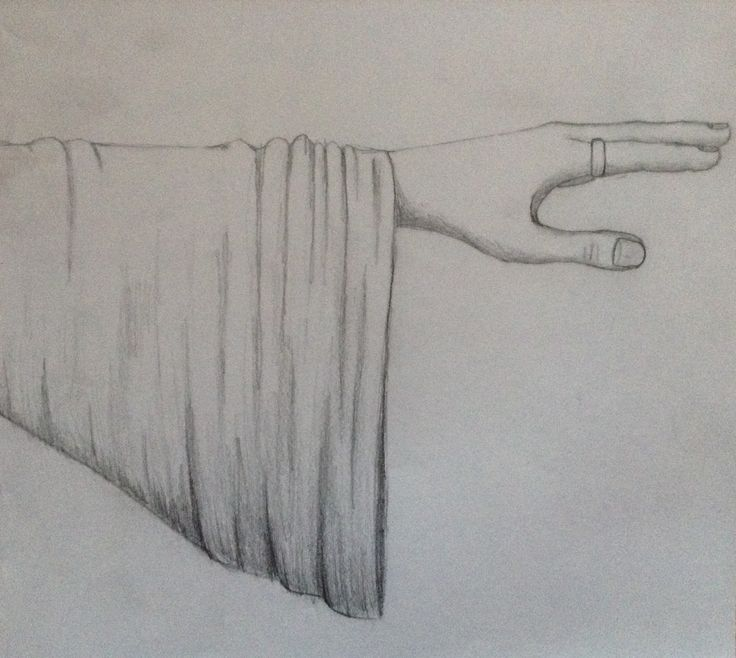 Cloth and hand
