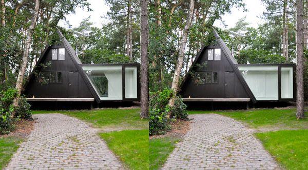 Современный минималистский дом по проекту dmvA