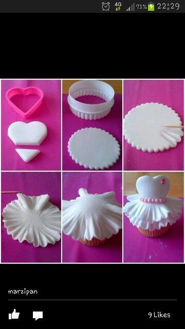 Cup cake idea -love it