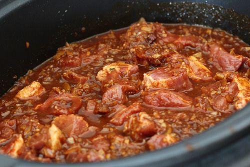 crock pot carne adovada