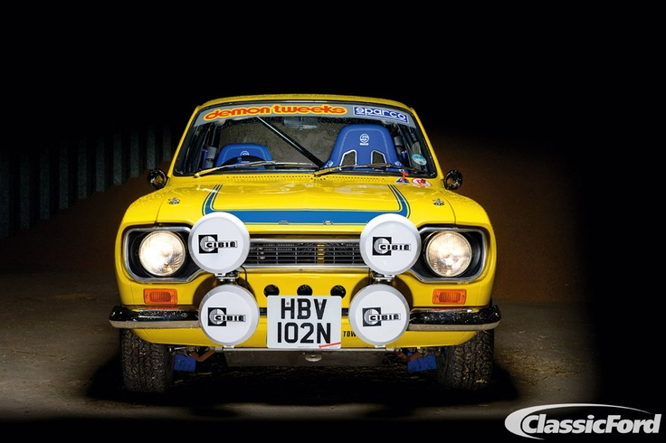 Classic Ford's photos of 2012. Colin Jaram's Mk1 Escort, from the Summer 2012 issue. Photo: Chris Wallbank