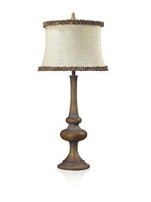 Dimond Lighting Dawn Hill Carmel Wood Finish Table Lamp