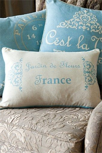 Lovely French cushions