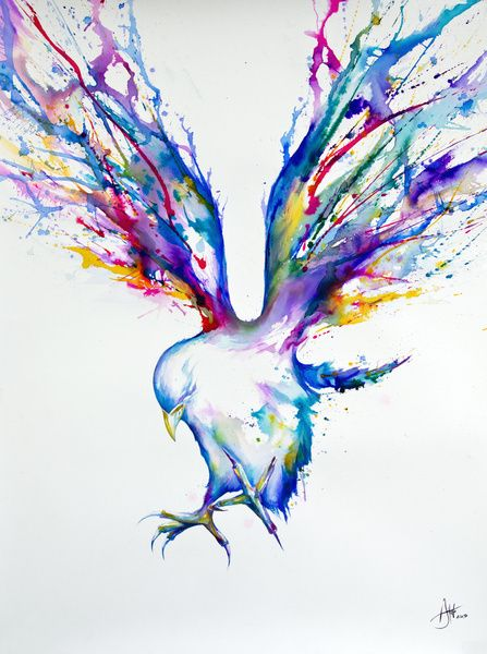It's an amzing piece of art. I would love to try to create this with that melting crayons and a hairdrier thing!