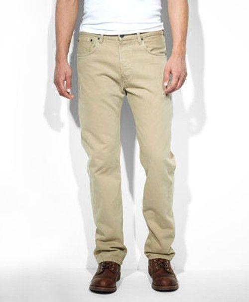 Levis 501 Original Fit Jeans Timberwolf