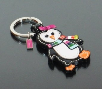 Coach Legacy Patent Leather Penguin Key Fob Ring $36.00 << I NEED THIS: Patent Leather, Keys Fobs, Keys Rings, Coach Legacy, Penguins Keys, Leather Penguins, Legacy Patent, Fobs Rings, Rings 36 00