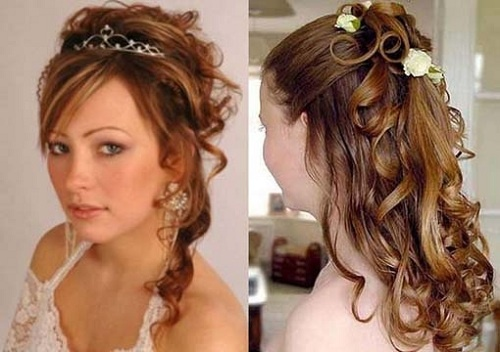 50 Dreamy Wedding Hairstyles For Long Hair: 17 Best Images About Junior Bridesmaid Hair Styles On