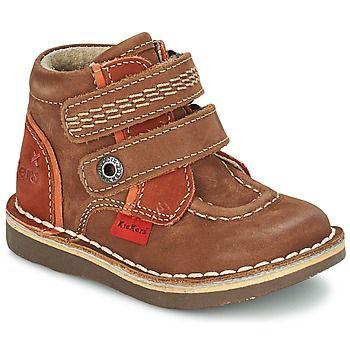 WAPA Braun von Kickers: Obermaterial : Leder, Innenmaterial : Leder, Decksohle : Leder, Laufsohle : Kautschuk.  #Kinder stehen den Erwachsenen in Sachen Schuhen in nichts nach! #Kinderschuhe, #Schuhejungen, #KickersSchuhe
