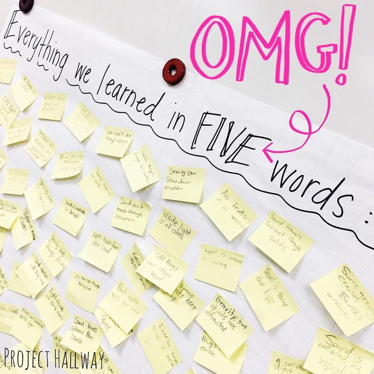 """Seriously. You've got to try this! ⭐️ Tell your students to fill a poster with everything that they learned during a unit using exactly five words for…"""