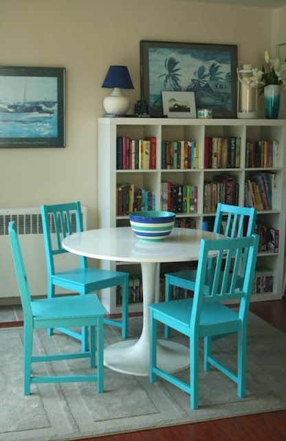 Amazing What A Pint Of Turquoise Paint Can Do For A Room And That Palm Tree Painting Reminds Me Of Bv