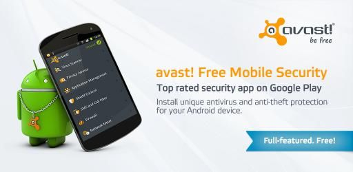 avast! Mobile Security v3.0.6572 : The Best Antivirus for Android Apk