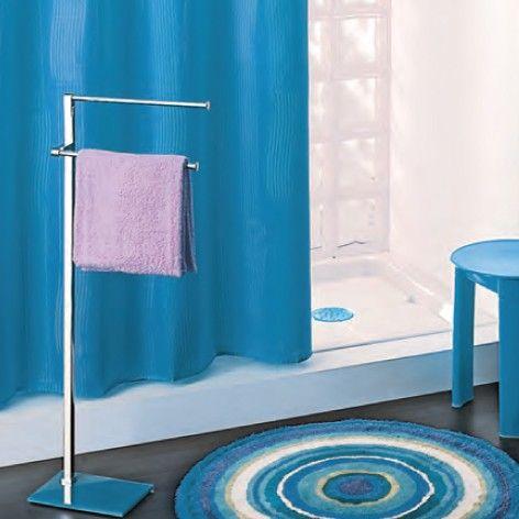 1000 idee su arredo bagno blu su pinterest arredo bagno - Tenda doccia design ...