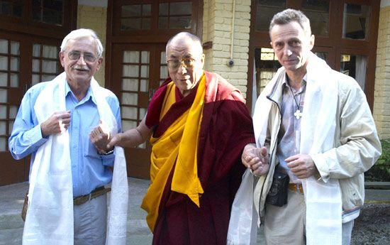 Visit to his Holiness the Dalai Lama in Dharamsala.