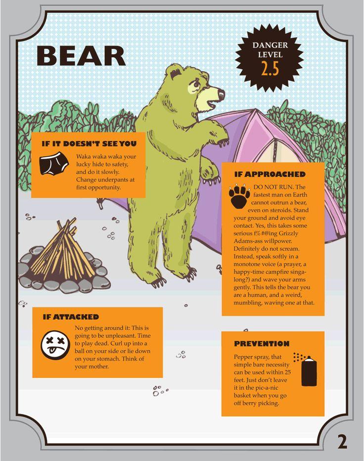 Hur överlever man en attack av en Björn? Eller en Varg för den delen? #överlevnad #survival #survive #camping #bear #wolf #cougar #hippo #education #Obsid  http://www.obsid.se/livsstil/hur-overlever-man-en-attack-av-en-bjorn-eller-en-varg-for-den-delen-en-kort-overlevnadsguide/