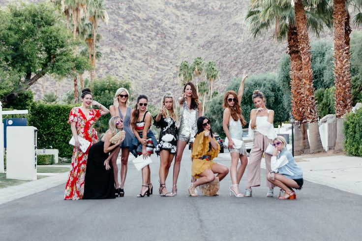 All the details from my fun Palm Springs weekend with 10 blogger friends celebrating a bachelorette party is now on the blog!
