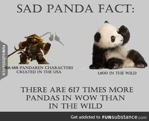 Sad panda fact