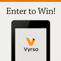 Enter for a chance to win a Google Nexus 7 from Vyrso.com! Your Vyrso account will be pre-loaded with titles from Kirkdale Press, Faithlife Women authors and others such as John Piper, Matt Chandler, Kay Arthur, Rick Warren and Tim Tebow.