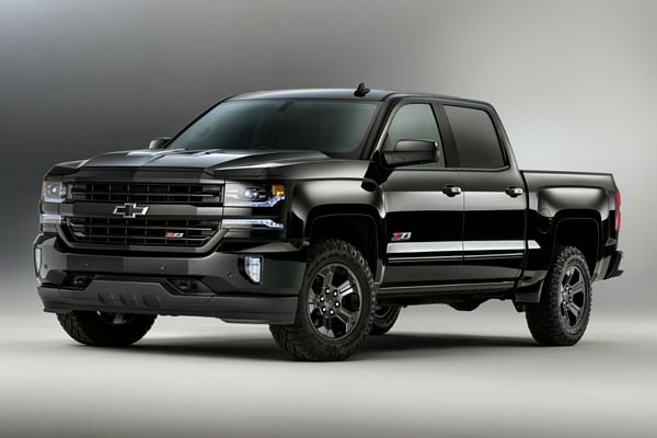 2016 Chevrolet Silverado Z71 Midnight Edition