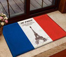 Mais barato flanela tapete para o quarto estilo britânico bandeira nacional varanda tapetes a passagem varanda mat(China (Mainland)) 40,00