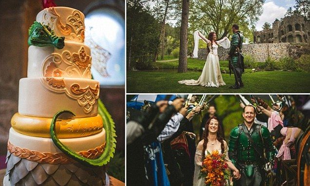 Game of Thrones fans marry in lavish fantasy-themed ceremony