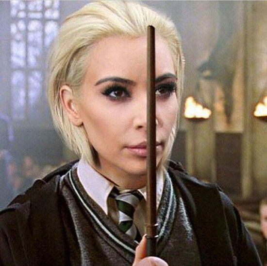 Kim Kardashian Platinum Blonde Memes (9 Photos)