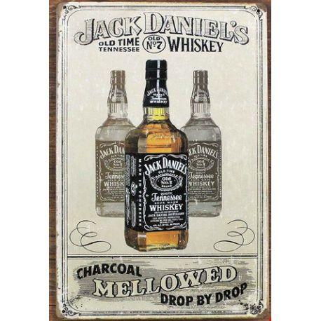 jack daniel's whisky #deco plaque metal