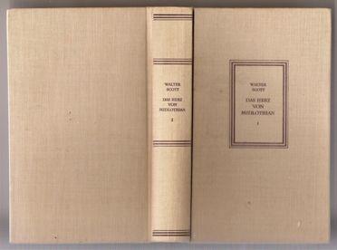 #Bücher - #Klassiker - Das Herz von Midlothian (I)- Walter #Scott, #Aufbau-Verlag bei #Freistempelauktion - Das Auktionshaus für Sammler !