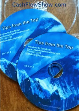 FREEBIE - Get Your Free CDs! Act Fast! Get FREE CDs - I will send you a real – hard copy CD set of Tips From The Top when you complete ALL of the following.... READ - http://www.createacashflowshow.com/sweepstakes/freebie-cds.htm
