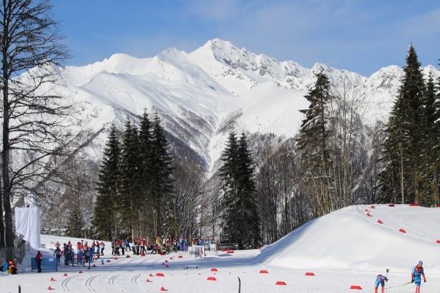 Sochi's Cross-Country skiing venue