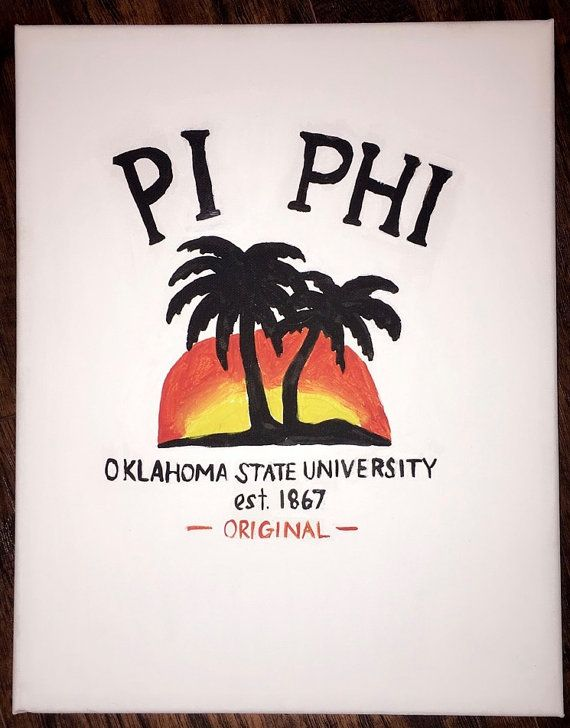 I CAN MAKE WITH DIFFERENT SORORITY/COLLEGE canvas painting with acrylic paint
