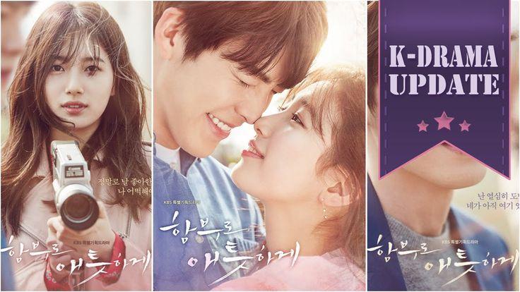 K-Drama UPDATE - Uncontrollably Fond - new (hot) Korean Drama (kdrama) from July 2016 - 함부로 애틋하게 (KBS2) aka Lightly, Ardently / Arbitrarily Fond / Recklessly Affectionate - Kim Woo-bin Bae Su-ji / Suzy [Miss A] Im Joo-hwan Im Joo-eun