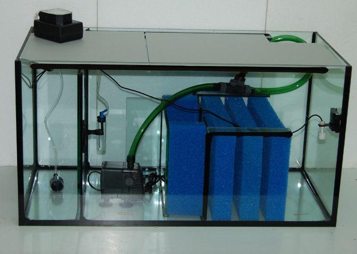 Aquarienbau Brillant-Aquarium. Mehr über Filterset Süßwasser