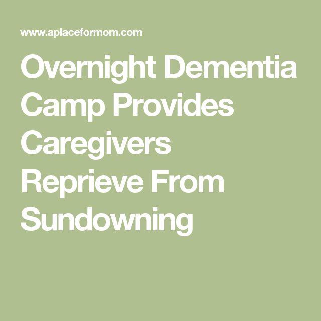 Overnight Dementia Camp Provides Caregivers Reprieve From Sundowning