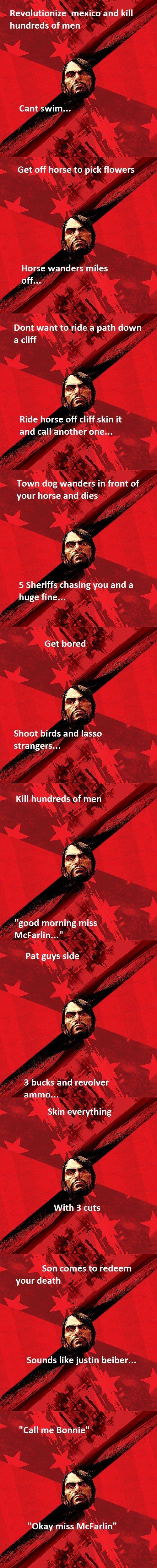 Red Dead Redemption  So true XD
