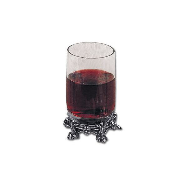 Pentagramica Shot Glass from Dark Emporium Gothic store ❤ liked on Polyvore featuring home, kitchen & dining, drinkware, drinks, fillers, food, food and drink and decor
