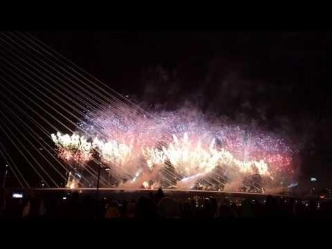 Новый год в Нидерландах. Лучший фейерверк в Голландии - YouTube