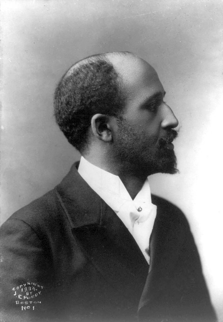 Smoking hot author and activist WEB Dubois at age 36 in 1904.