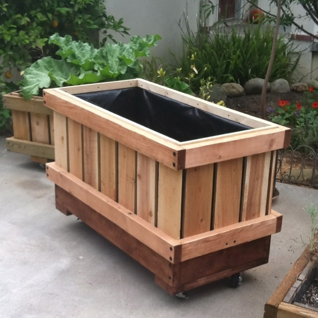 Rectangle Raised Flower Box Planter Bed 2 Tier Soil Pots: 19 Best Planter Boxes Images On Pinterest